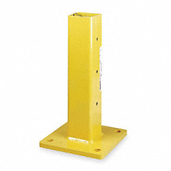 Guard Post, Center, Single, H18 1/2In