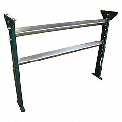 Conveyor H-Stand, W 15 In, H 31-43 In