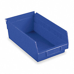 Shelf Bin, 17-7/8 x 11-1/8 x 4, Blue