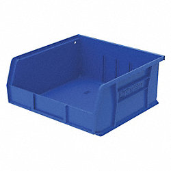 Stack & Hang Bin, 7x16 1/2x14 3/4, Blue