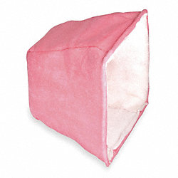 Cube Filter, 3-Ply, Polyester, 20x25x15 in.