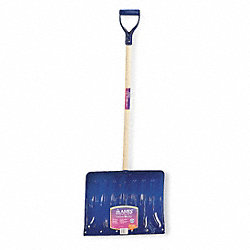 Snow Shovel, Alum, 18 In W, 14 In H