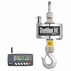 Digital Crane Scale, Steel, 35-1/3 In. H