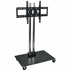 Mobile Flat Panel Stand, Height 50 In