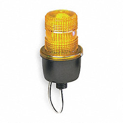 Low Profile Warning Light, Strobe, Amber