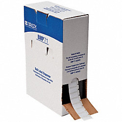 Label Cartridge, White, Polyester, 1 In. W