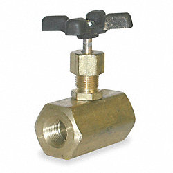 Valve, Needle, 1/4 In, SS, 5000PSI