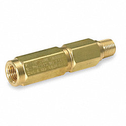Snubber, Pressure, Piston, 1/2 In, Brass