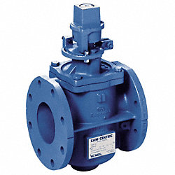 Plug Valve, 2 1/2 In, Nut Operated, CI