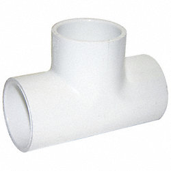 Tee, 1/2 In Slip, PVC, Schedule 40