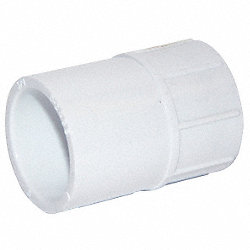 Adapter, 3/4 In Slip x FNPT, PVC, Sch 40