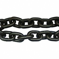 Chain, Grade 80, 9/32 Size, 20 ft., 3500 lb.
