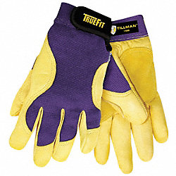 Mechanics Gloves, Blue/Gold, M, PR