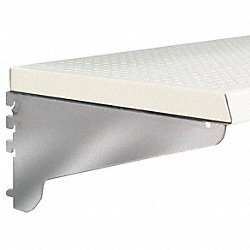 Perforated Shelf, D 12 In, W 48 In, PK4
