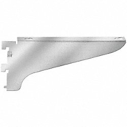 HD Shelf Bracket, Left Flange, D 12, PK12