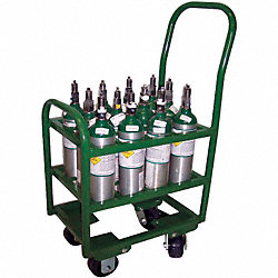 Cylinder Trolley, 78 In. H, 2400 lb.