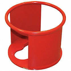 Cylinder Collar, 14 In Dia, 11 In H, Steel
