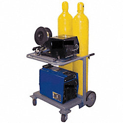 Inverter Cart, Holds 2 Cylinder