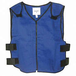 Cooling Vest, 2XL, Blue, 22 In. L