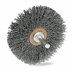 Wheel Brush, 3 In Dia
