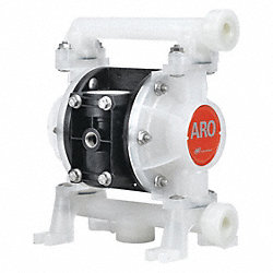 Diaphragm Pump, Nonmetallic, 3/8 In