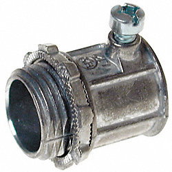 Connector, Setscrew, Non-Insulated, 1/2 In