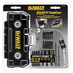 Magnetic Tool Case, Impact Ready, 20 Pcs