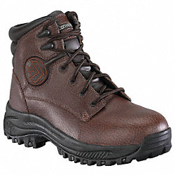 Athletic Work Boots, Stl, Mn, 10W, Brn, 1PR