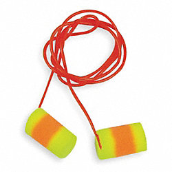 Ear Plugs, 33dB, Corded, Lrg, PK200