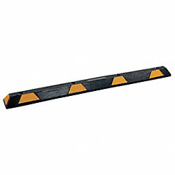 Parking Curb, 6x3-1/4x70In, Black