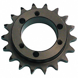 Sprocket, QD, #40, O D 3.618 In