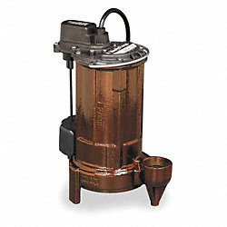 Sump Pump, 1/2 HP
