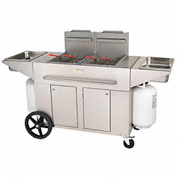 Outdoor Portable Fryer, 70-80 Lb