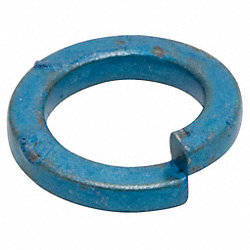 Split Lock Washer, Metric, Fits M5, Pk 100