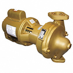 Circulator Pump, 1/3 HP, Bronze Impeller
