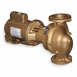 Circulator Pump, 1/2 HP, Bronze Impeller