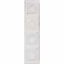 Label Cartridge, White, 1-4/5 In. W
