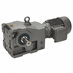 AC Gearmotor, Right Angle, 22 RPM, 3 HP