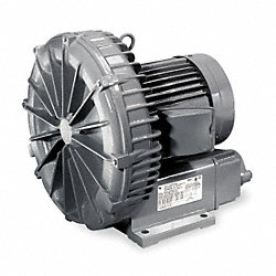 Regenerative Blower, 0.11 HP, 19.5 CFM