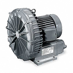 Regenerative Blower, 0.17 HP, 27 CFM