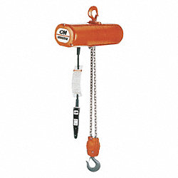 Electric Chain Hoist, 6000 lb., 5.5 fpm