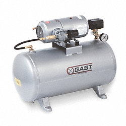 Air Compressor, Elec, 1/3HP, 100PSI, 12Gal