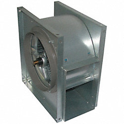 Blower, Duct, 18 1/8 In, Less Drive Pkg