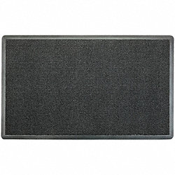 Wet Area Mat, High Traffic, Black, 3 x 5 ft