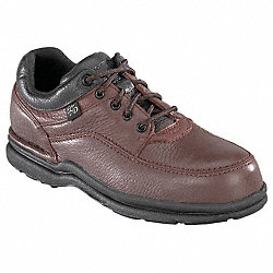 Work Shoes, Stl, Mn, 12E, Brn, 1PR