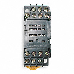 Socket, Relay, 14 Pins