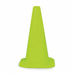 Traffic Cone, 18 In. H, Lime