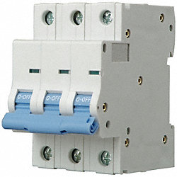 Mini Circuit Breaker, C Curve, 3P, 32A, 480V