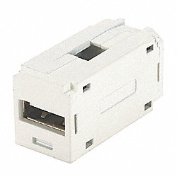 Mini-Com USB Coupler Module, White