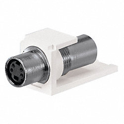 S-Video Coupler, Mini-Com, Off White